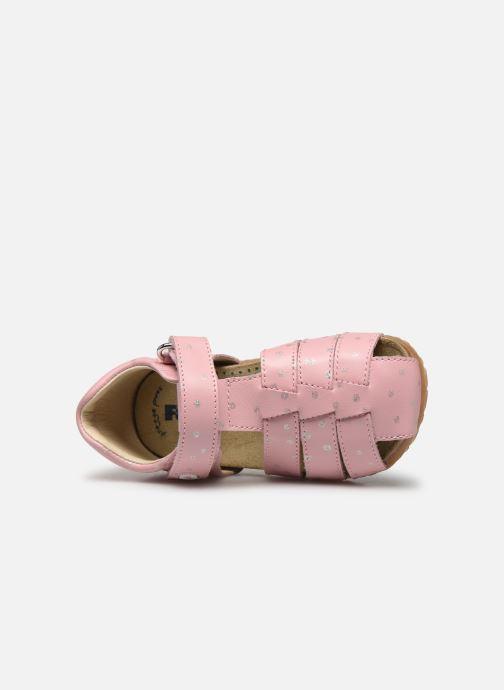 Sandalen Naturino Falcotto Bartlett rosa ansicht von links