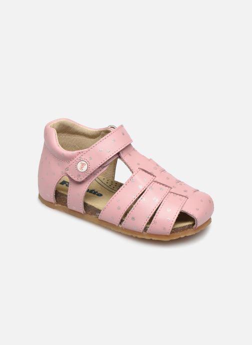 Sandales et nu-pieds Naturino Falcotto Bartlett Rose vue détail/paire