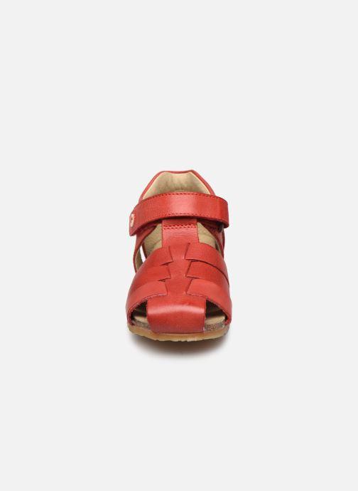 Sandales et nu-pieds Naturino Falcotto Bartlett Rouge vue portées chaussures