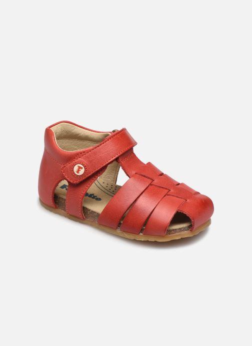 Sandales et nu-pieds Naturino Falcotto Bartlett Rouge vue détail/paire