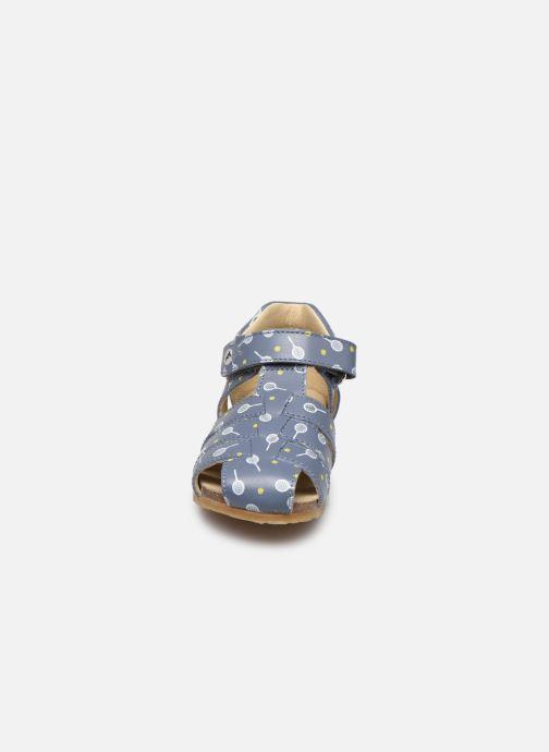 Sandales et nu-pieds Naturino Falcotto Bartlett Bleu vue portées chaussures