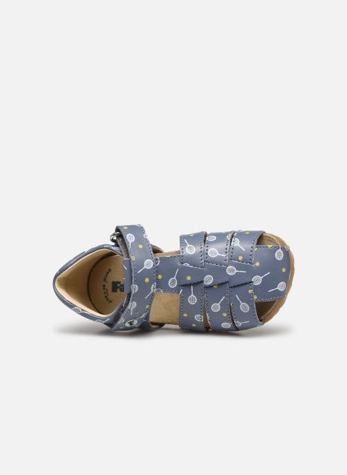 Sandales et nu-pieds Naturino Falcotto Bartlett Bleu vue gauche