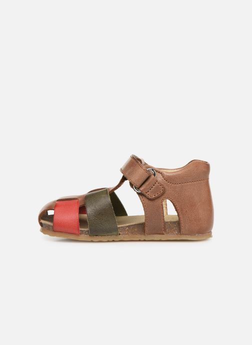 Sandals Naturino Falcotto Ben Brown front view
