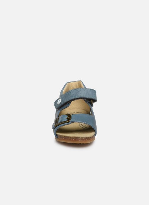 Sandales et nu-pieds Naturino Falcotto Bea Bleu vue portées chaussures