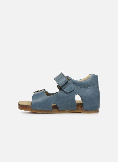Sandales et nu-pieds Naturino Falcotto Bea Bleu vue face