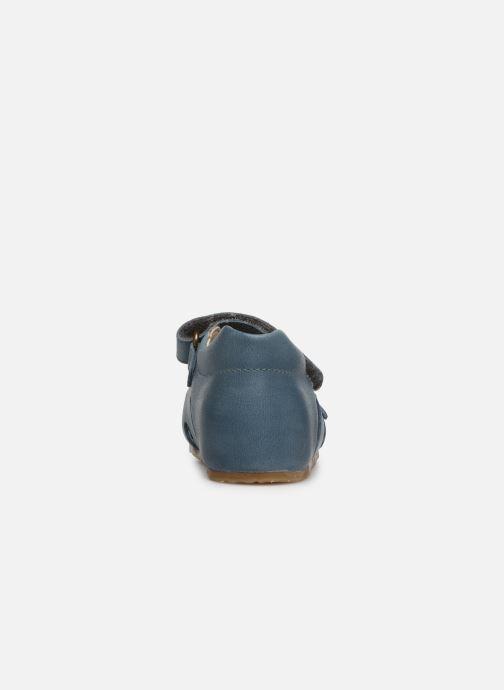 Sandales et nu-pieds Naturino Falcotto Bea Bleu vue droite