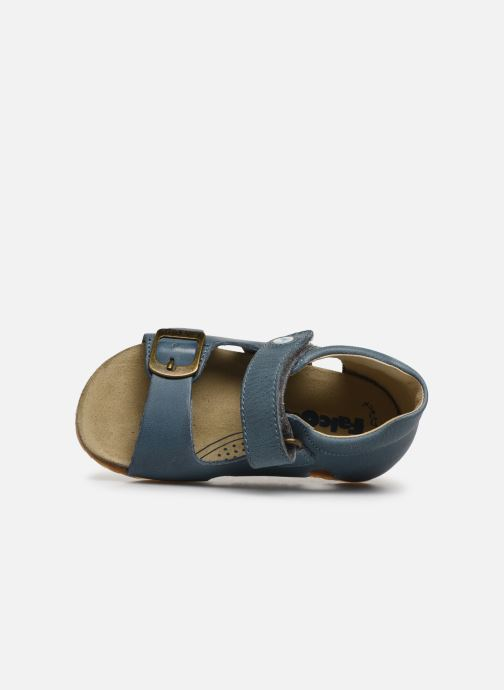 Sandals Naturino Falcotto Bea Blue view from the left