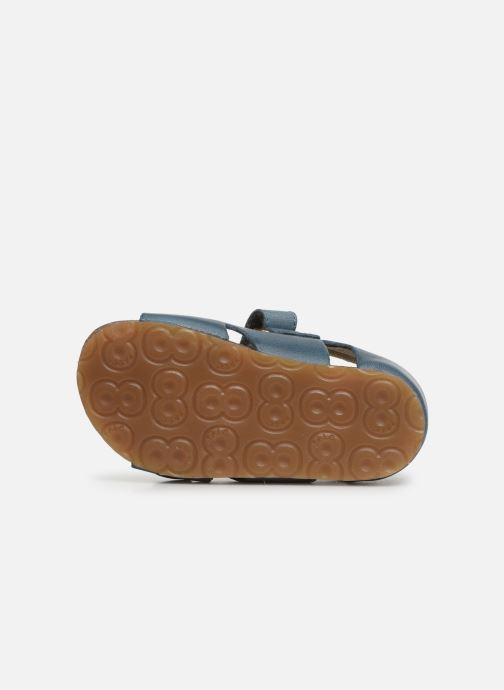 Sandales et nu-pieds Naturino Falcotto Bea Bleu vue haut
