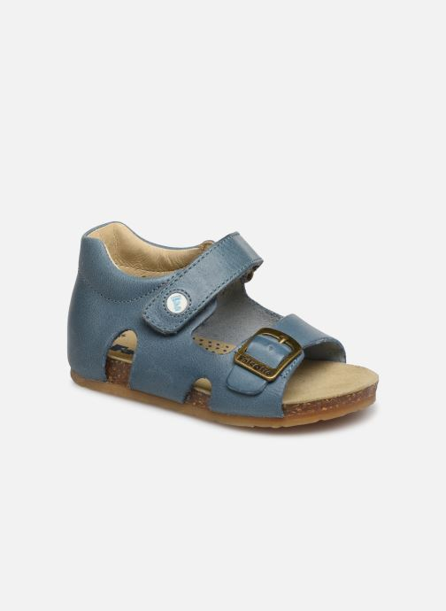Sandals Naturino Falcotto Bea Blue detailed view/ Pair view