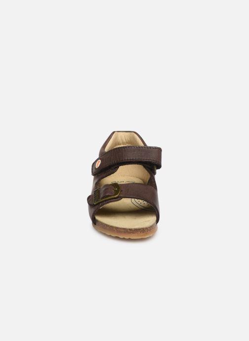Sandales et nu-pieds Naturino Falcotto Bea Marron vue portées chaussures