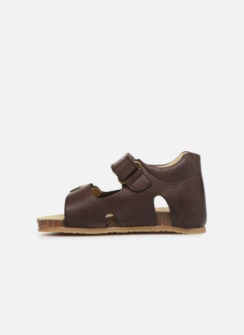 Sandales et nu-pieds Naturino Falcotto Bea Marron vue face
