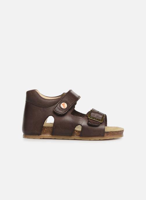 Sandales et nu-pieds Naturino Falcotto Bea Marron vue derrière