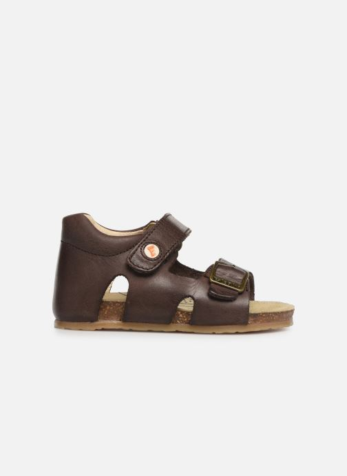 Sandals Naturino Falcotto Bea Brown back view