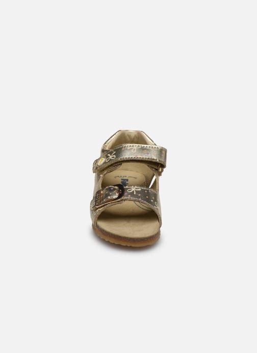 Sandales et nu-pieds Naturino Falcotto Bea Or et bronze vue portées chaussures