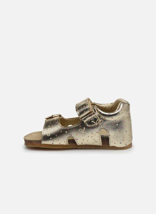 Sandales et nu-pieds Naturino Falcotto Bea Or et bronze vue face