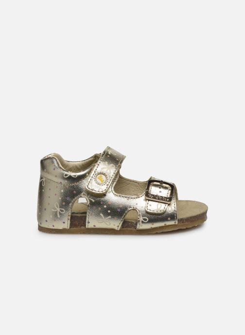 Sandales et nu-pieds Naturino Falcotto Bea Or et bronze vue derrière