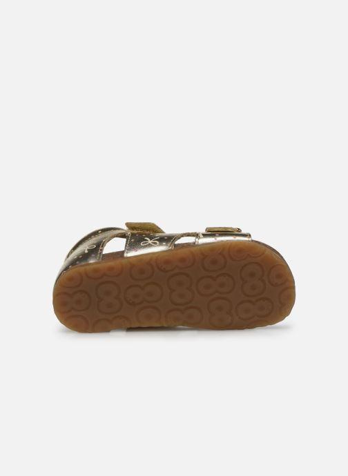 Sandales et nu-pieds Naturino Falcotto Bea Or et bronze vue haut