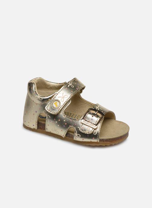 Sandales et nu-pieds Naturino Falcotto Bea Or et bronze vue détail/paire