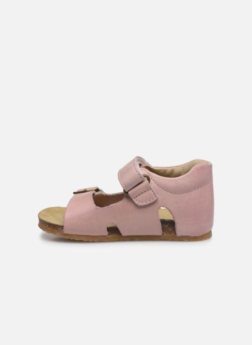 Sandales et nu-pieds Naturino Falcotto Bea Rose vue face