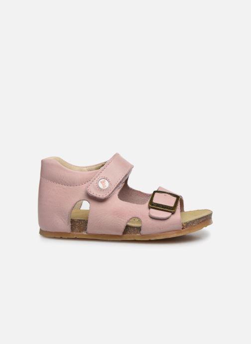 Sandales et nu-pieds Naturino Falcotto Bea Rose vue derrière