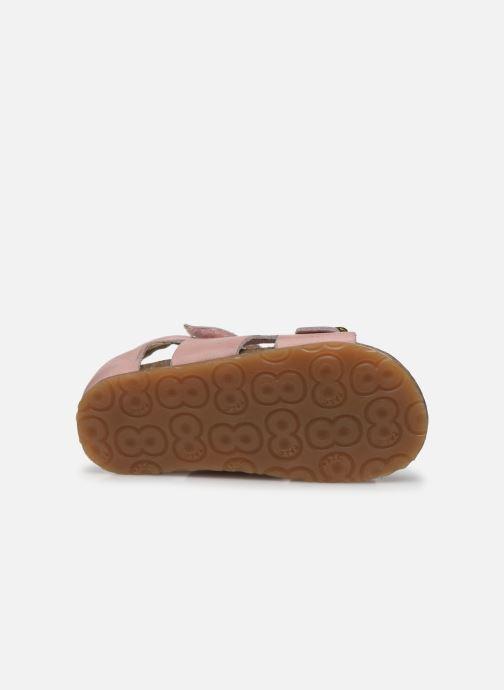 Sandali e scarpe aperte Naturino Falcotto Bea Rosa immagine dall'alto
