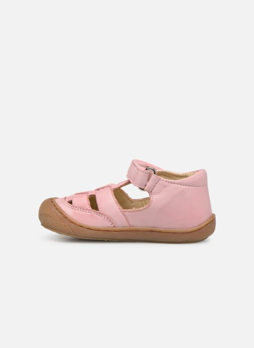 Ballet pumps Naturino Wad Pink front view