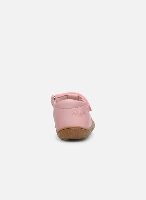 Ballet pumps Naturino Wad Pink view from the right