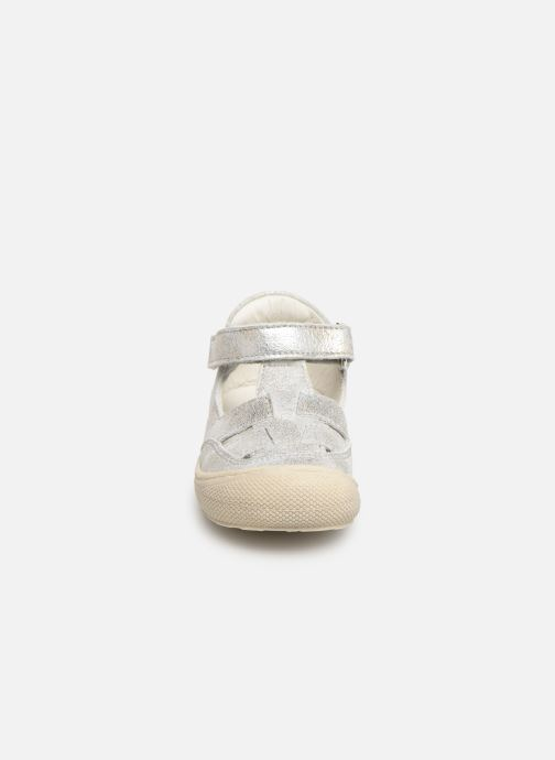 Ballerines Naturino Wad Argent vue portées chaussures