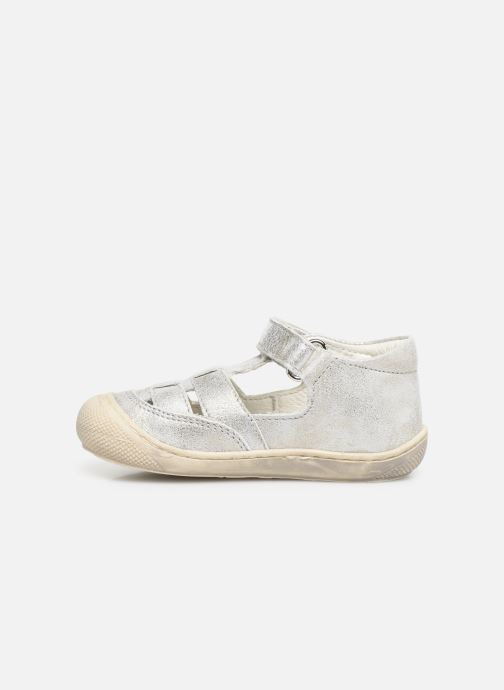 Ballet pumps Naturino Wad Silver front view