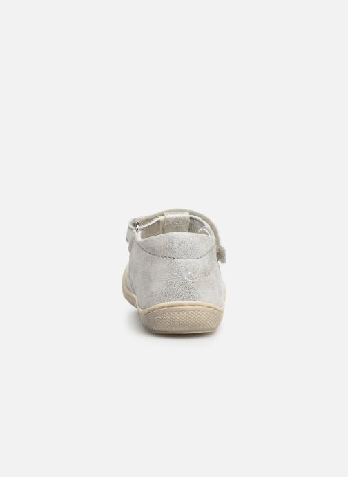 Ballet pumps Naturino Wad Silver view from the right