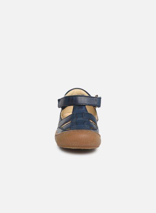 Ballerines Naturino Wad Bleu vue portées chaussures