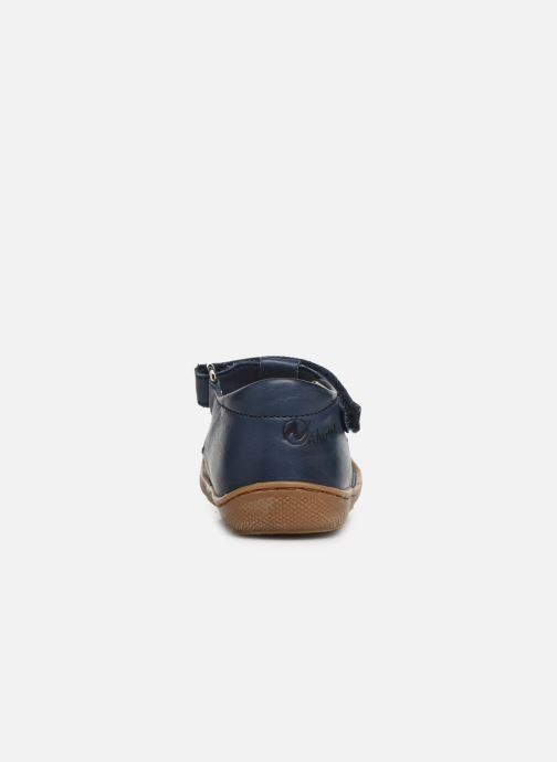 Ballet pumps Naturino Wad Blue view from the right