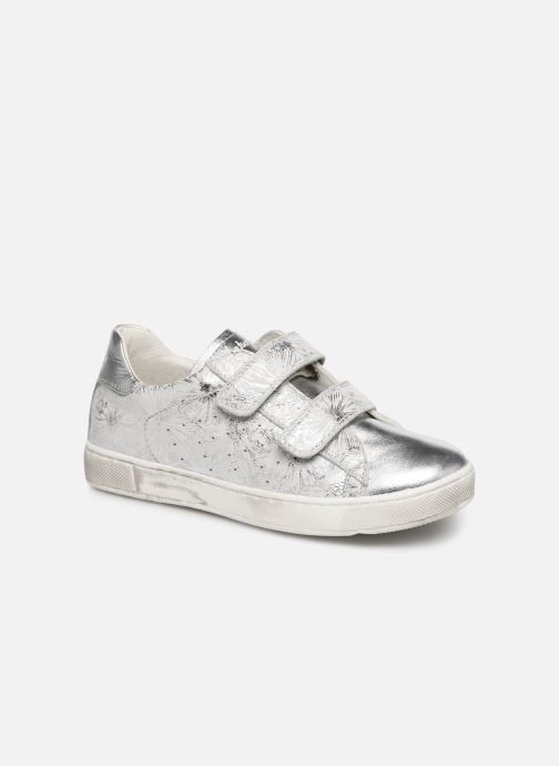 Trainers Naturino Hasselt VL Silver detailed view/ Pair view