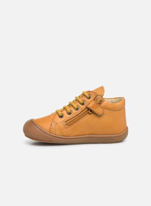 Boots en enkellaarsjes Naturino Cocoon Zip Geel voorkant