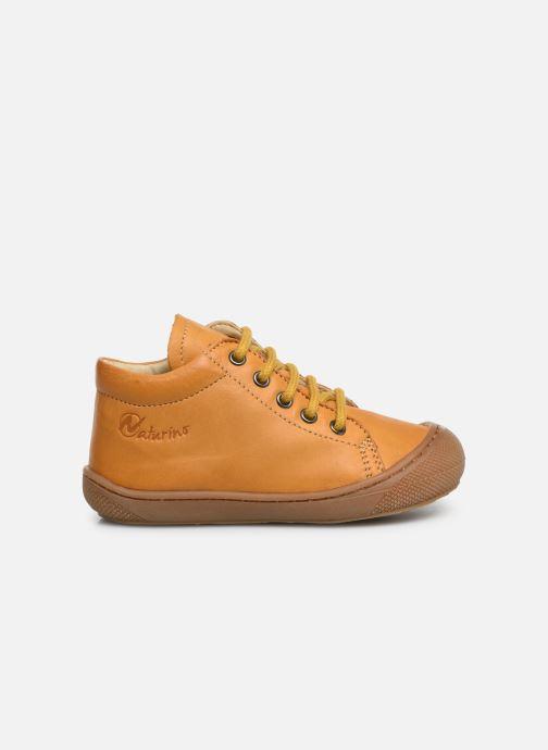 Boots en enkellaarsjes Naturino Cocoon Zip Geel achterkant