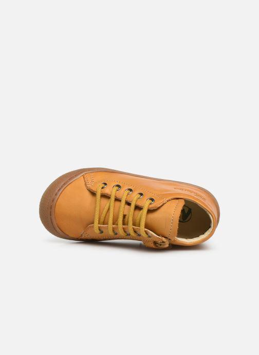 Bottines et boots Naturino Cocoon Zip Jaune vue gauche