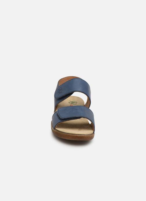 Sandales et nu-pieds Naturino Bush Bleu vue portées chaussures