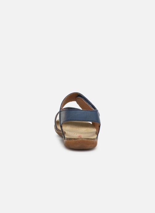 Sandales et nu-pieds Naturino Bush Bleu vue droite