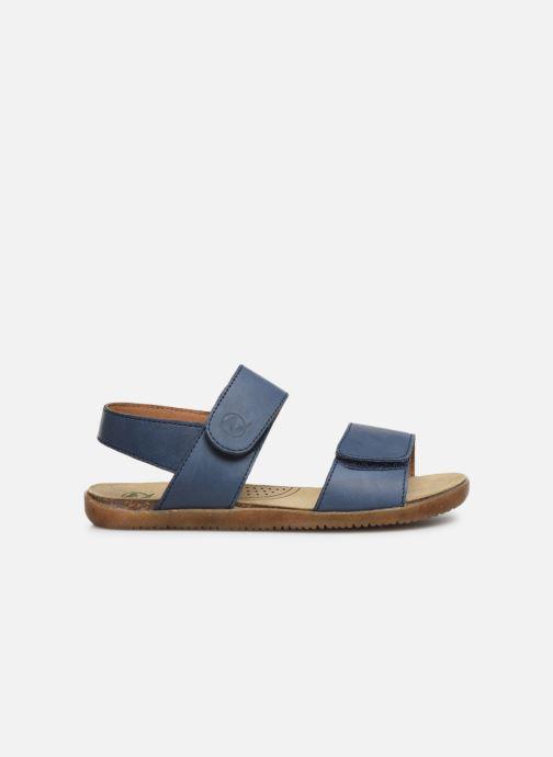 Sandales et nu-pieds Naturino Bush Bleu vue derrière