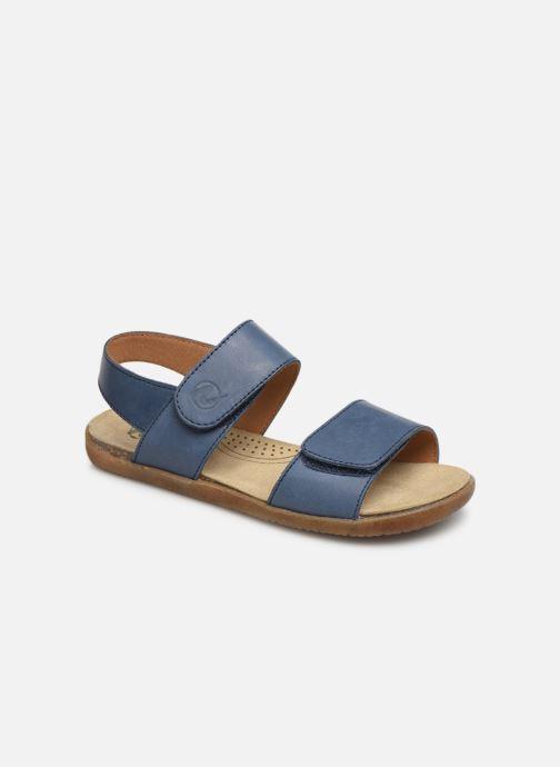 Sandales et nu-pieds Naturino Bush Bleu vue détail/paire