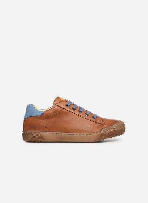 Trainers Naturino Eindhoven Zip Brown back view