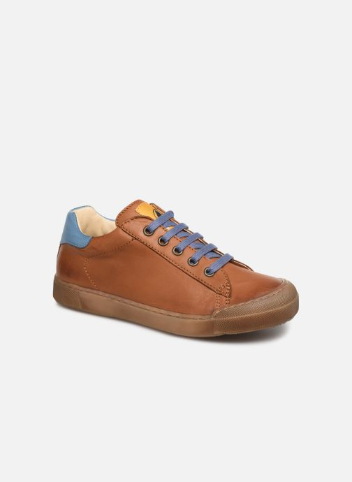 Trainers Naturino Eindhoven Zip Brown detailed view/ Pair view