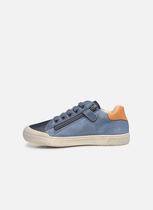 Sneaker Naturino Eindhoven Zip blau ansicht von vorne
