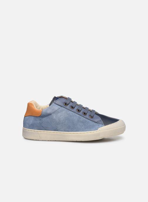 Sneakers Naturino Eindhoven Zip Blauw achterkant