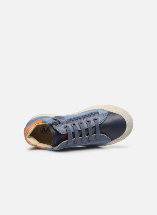 Sneakers Naturino Eindhoven Zip Blauw links