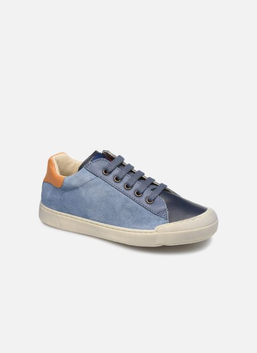 Sneakers Naturino Eindhoven Zip Blauw detail