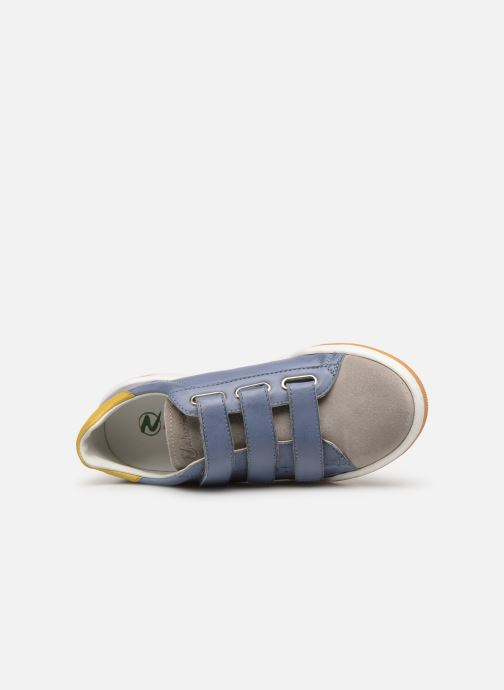 Trainers Naturino Cliff VL Blue view from the left