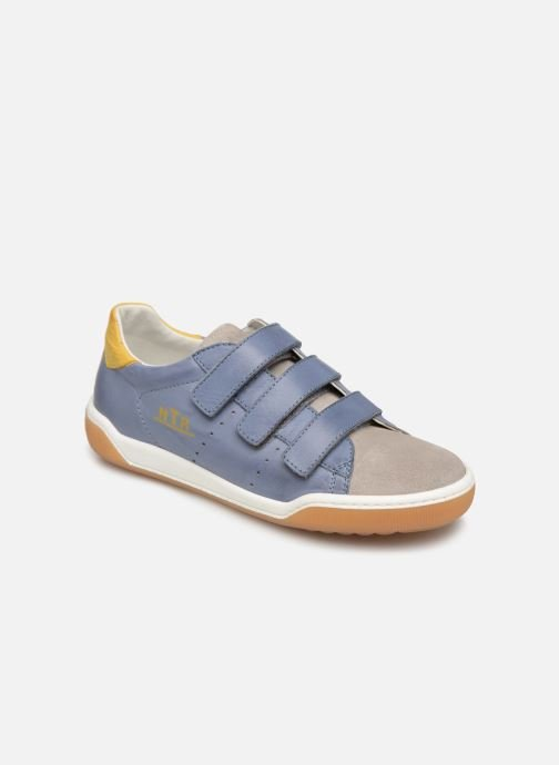 Trainers Naturino Cliff VL Blue detailed view/ Pair view
