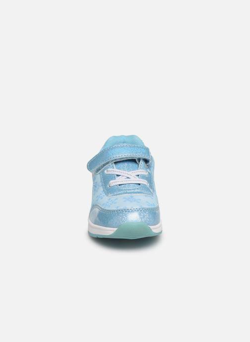Baskets Frozen Groseille Bleu vue portées chaussures