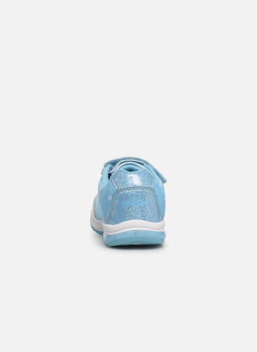 Baskets Frozen Groseille Bleu vue droite